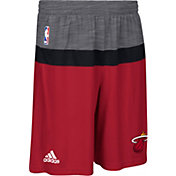 adidas Men's Miami Heat Pre-Game Red Shorts