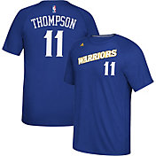 adidas Men's Golden State Warriors Klay Thompson #11 climalite Royal T-Shirt