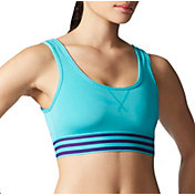 adidas Women's adiGirl 3-Stripes Sports Bra