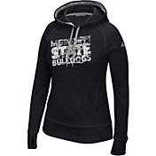 adidas Women's Mississippi State Bulldogs Grey Modtriax Performance Hoodie