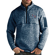 Antigua Men's Tennessee Titans Fortune Navy Pullover Jacket