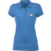Antigua Women's North Carolina Tar Heels Carolina Blue Spark Polo