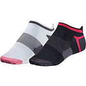ASICS Women's Quick Lyte Tab Socks 2 Pack