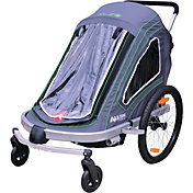 Allen Sports Aluminum Double Bike Trailer and Stroller