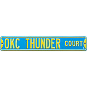 Authentic Street Signs Oklahoma City Thunder Court Sign