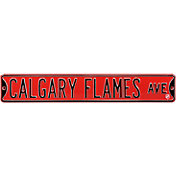 Authentic Street Signs Calgary Flames Ave Sign