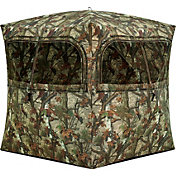 Barronett Grounder 350 Ground Blind – Bloodtrail Woodland Camo