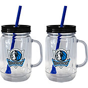 Boelter Dallas Mavericks 20oz Handled Straw Tumbler 2-Pack