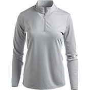 Bette & Court Women's Cool Elements Mesh Long Sleeve Golf Polo