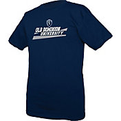 boxercraft Men's Old Dominion Monarchs Blue Just for You Crew Wordmark and Logo T-Shirt