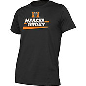 boxercraft Men's Mercer Bears Just for You Crew Wordmark and Logo Black T-Shirt
