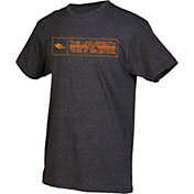 boxercraft Men's UT San Antonio Roadrunners Grey Just for You Crew Block Wordmark and Logo T-Shirt