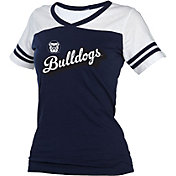boxercraft Women's Butler Bulldogs Blue/White Powder Puff T-Shirt