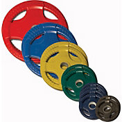 Body Solid 255 lb Olympic Bumper Set