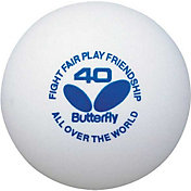 Butterfly Table Tennis Training Balls 6 Pack