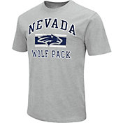 Colosseum Men's Nevada Wolf Pack Grey Dual-Blend T-Shirt