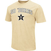 Colosseum Athletics Men's Vanderbilt Commodores Gold Team Slogan T-Shirt