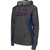 Colosseum Athletics Women's Ole Miss Rebels Grey Performance Hoodie