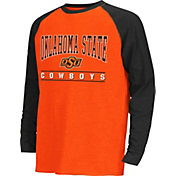 Colosseum Athletics Youth Oklahoma State Cowboys Krypton Black Long Sleeve Shirt