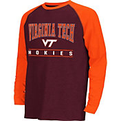 Colosseum Athletics Youth Virginia Tech Hokies Maroon Krypton Long Sleeve Shirt