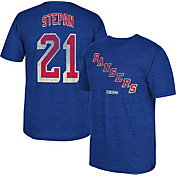 CCM Men's New York Rangers Derek Stepan #21 Vintage Replica Royal Player T-Shirt