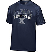 Champion Men's Xavier Musketeers Navy T-Shirt