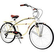 Columbia Adult Hampton 7 Speed Beach Cruiser Bike