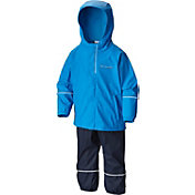 Columbia Boys' Wet Reflect Rain Jacket and Pants Set