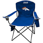 Coleman Denver Broncos XL Quad Chair With Cooler