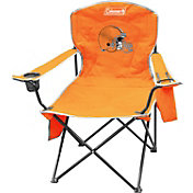 Coleman Cleveland Browns XL Quad Chair With Cooler