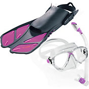 Cressi Travel Light Professional Snorkeling Set
