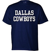 Dallas Cowboys Merchandising Men's Navy Coaches T-Shirt