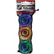 Franklin NHL® Extreme Color High Density Street Hockey Balls – 3 Pack