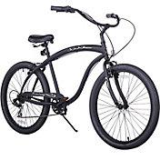 Firmstrong Men's 26'' Bruiser Man Seven Speed Beach Cruiser Bike