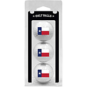 Team Golf Texas Flag Golf Balls - 3 Pack