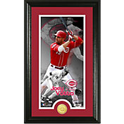 Highland Mint Cincinnati Reds Joey Votto Supreme Bronze Coin Photo Mint