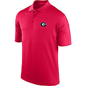 J. America Men's Georgia Bulldogs Red Spector Polo