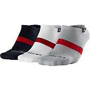 Jordan Dri-FIT No-Show Basketball Socks 3 Pack