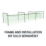 Jugs N8105 #8 Backyard Softball Batting Cage Net (381 lb.)