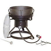 "King Kooker 17.5"" Jambalaya Propane Outdoor Cooker and 5 Gallon Pot"