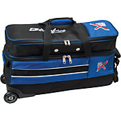 KR Strikeforce Royal Flush Slim 3-Ball Roller Bowling Bag with Shoe Pocket
