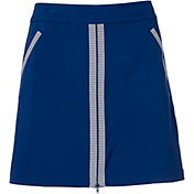 Lady Hagen Women's Bon Voyage Nautical Zipper Golf Skort