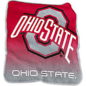 Ohio State Buckeyes Raschel Throw