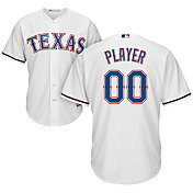 Majestic Men's Full Roster Cool Base Replica Texas Rangers Home White Jersey