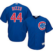 Majestic Youth Replica Chicago Cubs Anthony Rizzo #44 Cool Base Alternate Royal Jersey