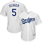 Youth Replica Los Angeles Dodgers Corey Seager #5 Home White Jersey