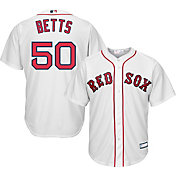 Youth Replica Boston Red Sox Mookie Betts #50 Home White Jersey