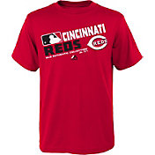 Majestic Youth Cincinnati Reds Authentic Collection Red T-Shirt