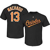 Majestic Youth Baltimore Orioles Manny Machado #13 Black T-Shirt