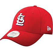 New Era Men's St. Louis Cardinals 9Forty Pinch Hitter Red Adjustable Hat